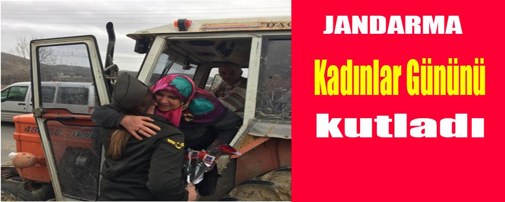 Jandarma'dan Kadınlar Gününü Kutlaması