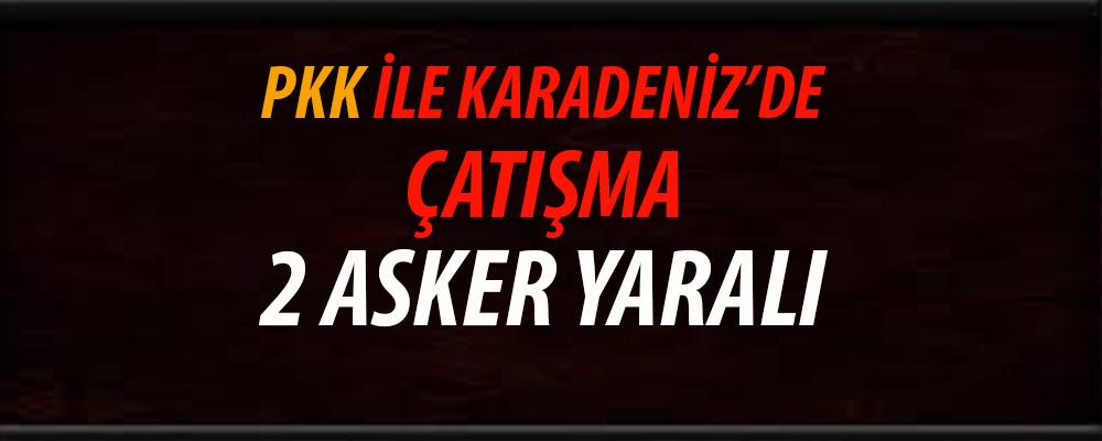 Trabzon'da PKK'lı Teröristler ile Çatışma 2 Asker Yaralı