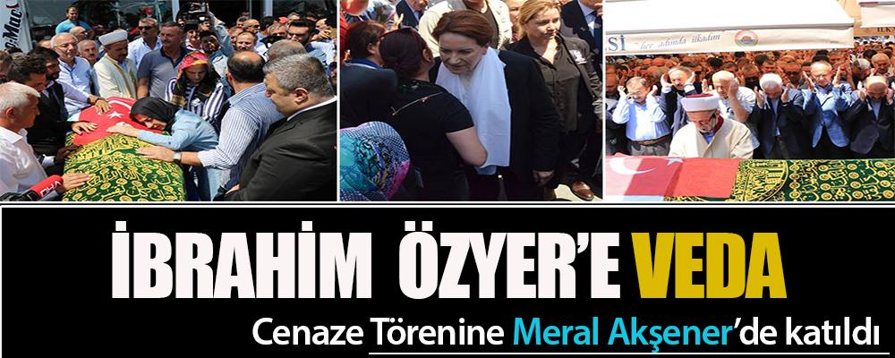 Özyer'in Cenazesi'nde Büyük Camii Doldu Taştı.