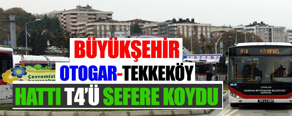 Samsun Büyükşehir Otogar'a Ulaşım Sorununu Çözdü.