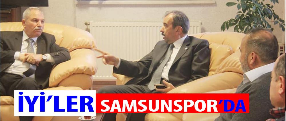 Demirtaş ve Tekin Samsunspor Kulübü Başkanı Uyanık'ı ziyaret etti