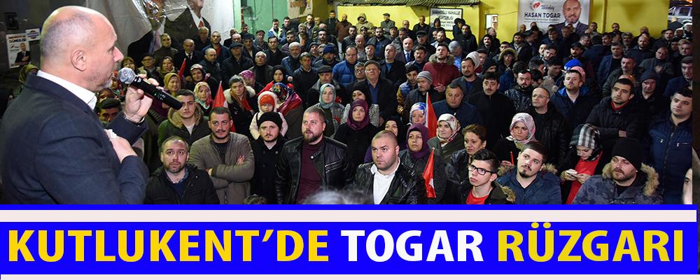 Togar: 'Kutlukent'de beş yılda çok şeyler değişti'