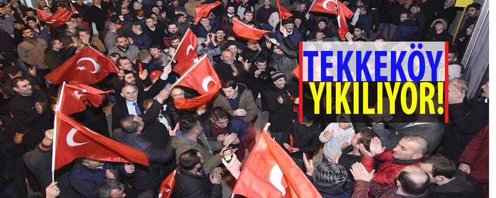 Tekkeköy'de gençlerin tercihi Hasan Togar
