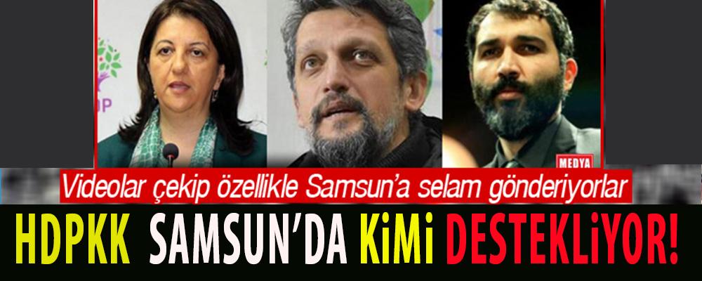 PKK'nın Siyasi Kanadı HDP'lilerin Samsun'da amaçları ne? Video çekip Samsun'a Selam gönderdiler.