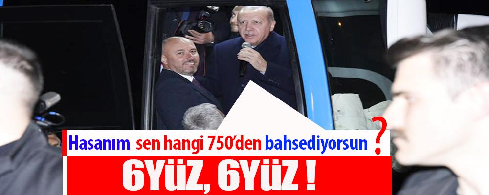 Cumhurbaşkanı Erdoğan dönüşte Başkan Togar'a uğradı.
