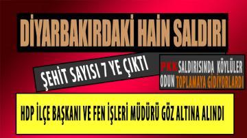 Saldırının ardından PKK'lı teröristlere yönelik başlatılan operasyon sürüyor.