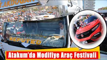 Atakum'da Modifiye Araç Festivali