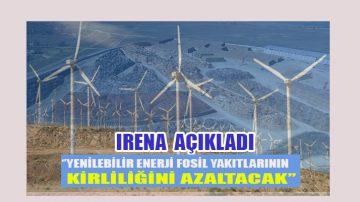 Yenilebilir enerji kirliliği azaltır