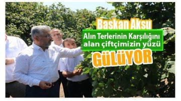 Erhan Aksu: Üretici alın terinin karşılığını aldı'