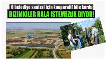 Belediye Büyokütle Santrali İçin Kooparatif Kurdu