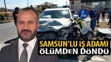 Burhan Erçal Kaza Yaptı