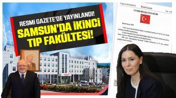 Samsun'a İkinci Tıp Fakültesi