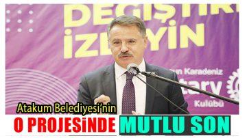 """Atakum'da """"Kırsal Kalkınma Projesi"""""""