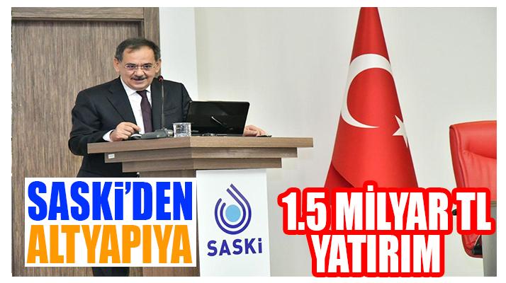 Samsun'da altyapıya yatırım!