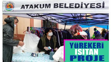 Atakum'dan Yardımsever Proje