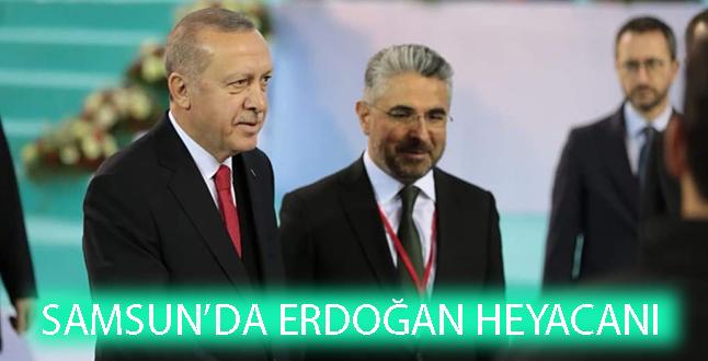 Samsun'da Erdoğan Heyacanı!