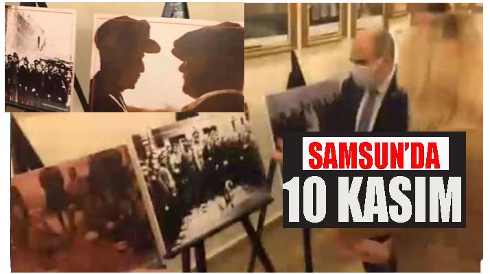 Samsun'da 10 Kasım