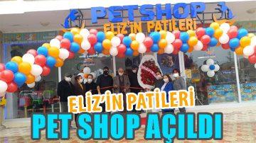 Eliz'in Patileri Pet Shop Hizmetinizde