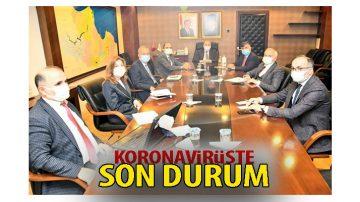 Samsun'da Kovid-19 Toplantısı