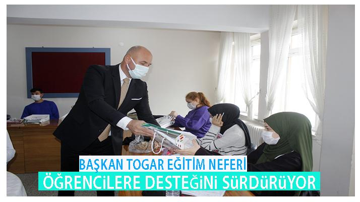 Başkan Togar'dan Eğitim Desteği