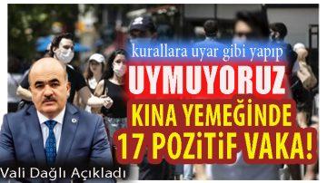 """Samsun Valisi Dağlı açıkladı:""""Kurallara Uymuyoruz"""""""