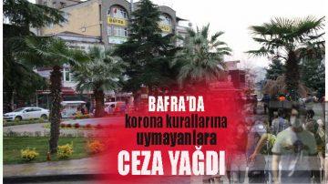 Samsun'da Korona Cezası