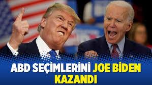 ABD'de Seçimi Joe Biden Kazandı