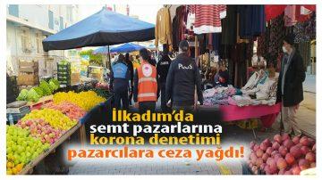 Pazarcılara Koronavirüs Cezası