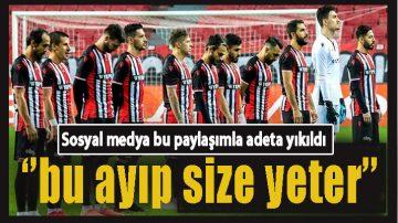 """Samsunspor'a tepki yağdı:""""Bu ayıp Size Yeter"""""""