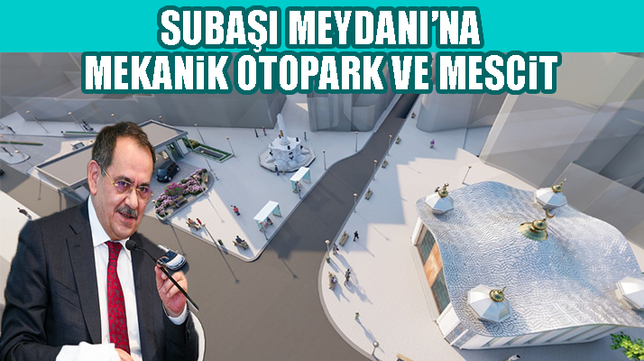 Samsun'da Tarihi Subaşı Meydanı Yenileniyor!