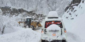 Çarşamba'da Kar Mücadelesi