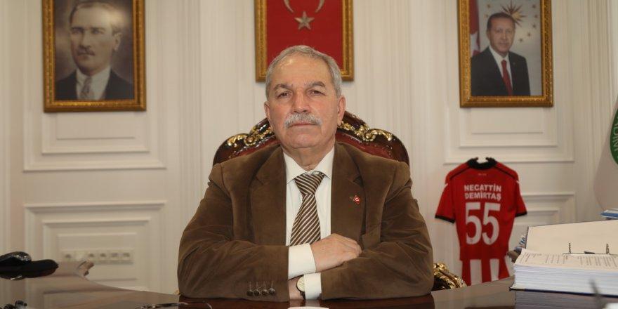 İlkadım Belediye Başkanı Demirtaş'ın Regaip Kandili Mesajı
