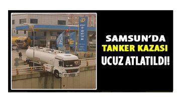 Samsun'da Kazaya Ramak Kaldı!