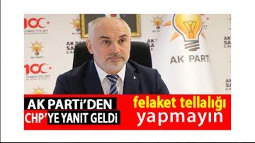 CHP'li Türkel'e Jet Yanıt!