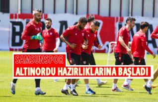 Samsunspor'da Rovanş Maçı Hazırlıkları