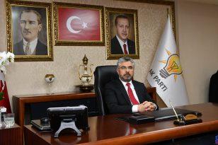 Ak Parti İl Başkanı Aksu 19 Mayıs Bayramını Kutladı