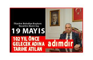"""Başkan Demirtaş:""""102 YIL ÖNCE GELECEK ADINA TARİHE ATILAN ADIMDIR"""""""