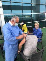 Başkan Togar'ın Aşı Hassasiyeti