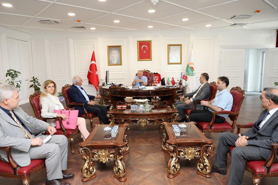 CHP'den Başkan Demirtaş'a Milletvekili Ziyareti