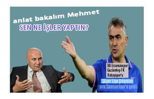 Mehmet Altıparmak'tan İlk Açıklama!
