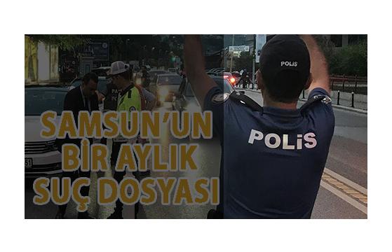 Samsun'da Yakalandılar!