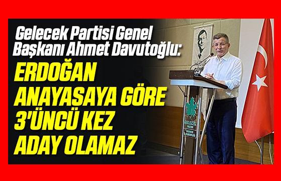 Erdoğan Aday Olamaz!