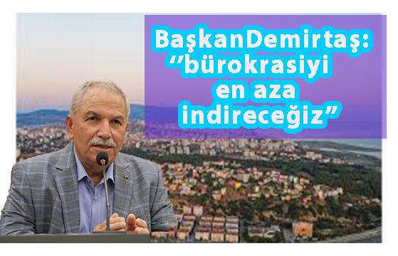 "Demirtaş:""Müteahitlere söz verdi"""