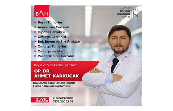 Op.Dr. Ahmet Karkucak BAH'da