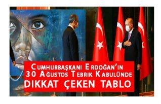Erdoğan Tebrikleri kabul etti.
